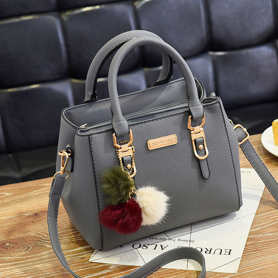 LANLOU New Women's Bag Leather Handbags TOP-handle Bag Luxury Fashion Lady Crossbody Bags For Women Casual Fashion Shoulder Bags