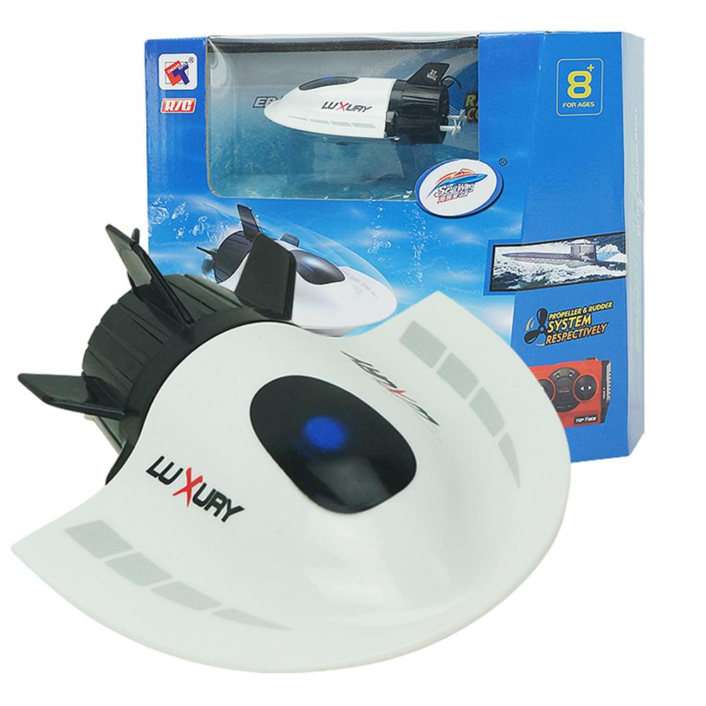 Radio RC Submarine Racing Toy Waterproof Mini RC Boat Electric Toys With Remote Control Gift For Kids