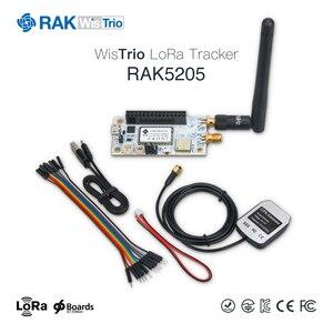 Image 5 - RAK5205 WisTrio LoRa Tracker modülü SX1276 LoRaWAN Modem sensör kurulu entegre GPS modülü LORA anten düşük güç Q159