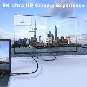 Image 3 - QGeeM 8K HDMI كابل متوافق HDMI 2.1 سلك ل Xiaomi Xbox Serries X PS5 PS4 أجهزة الكمبيوتر المحمولة 120Hz HDMI الفاصل الرقمية كابل الحبل 4K