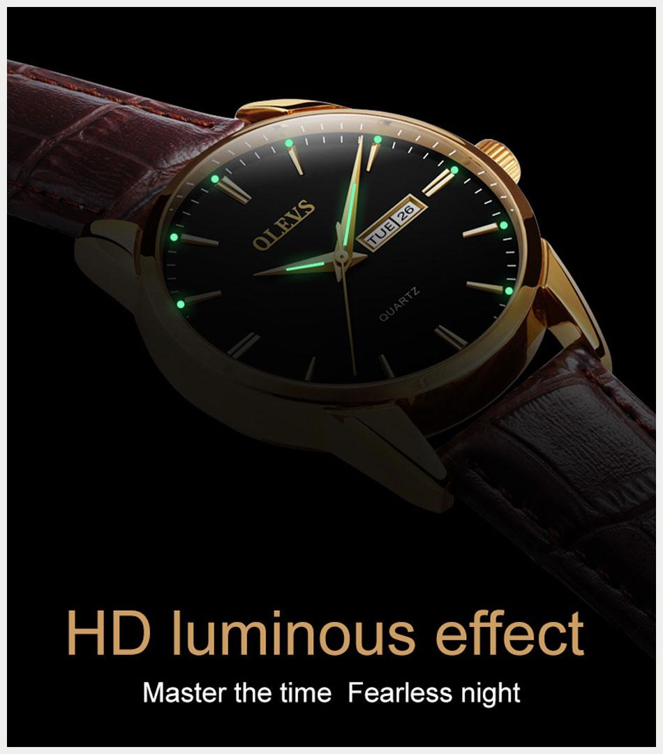 Luminous Hand Watch