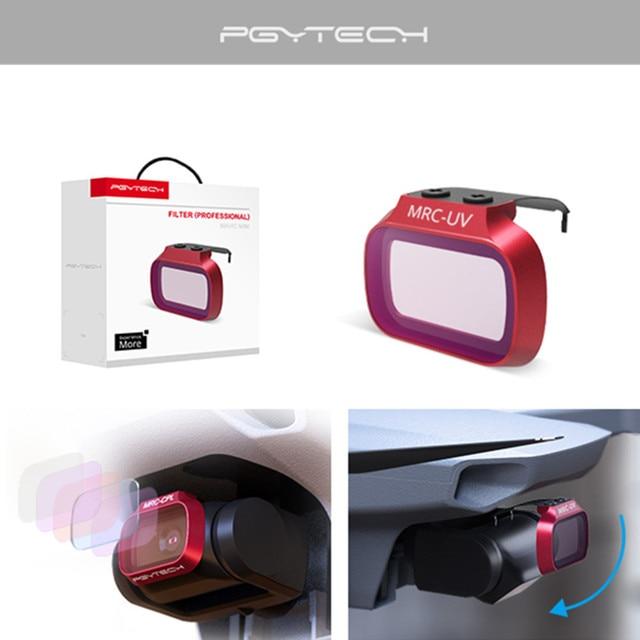 PGYTECH DJI Mavic Mini UV ND ND CPL CPL Filtro de lente de cámara filtro profesional para DJI Mavic Mini / DJI Mini 2 Drone Accesorios