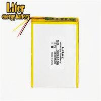 3 Lijn Lithium Polymeer Batterijen 3.7V 4500 Mah 3095105 Voor 7 Inch 9 Inch 12-Inch Tablet Pc