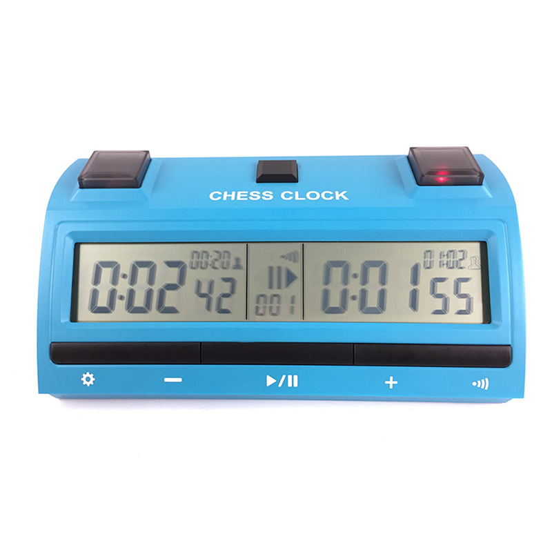 Sun-Tracking Genuine Product Three-in-One Chess Clock Chinese Chess Clock Chess Set Go Game Timer