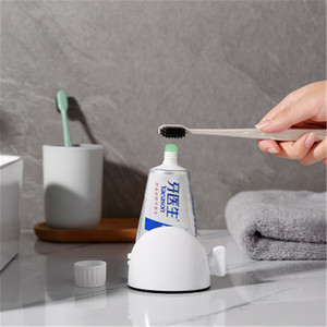 Manual Lazy Toothpaste Dispenser Tube Squeezer ABS Squeezing Tools Facial Cleanser Cosmetic Paint Squeezer Tube Wringer 1pc(China)