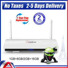 Leadcool iptv box android 9.0 TV BOX Amlogic S905W FULL HD 1080P Media Player 4K QHD TV Smart TV BOX Leadcool ship from france