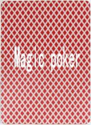 Magic poker home-Волшебный покер, волшебные карты, магический реквизит, Техасские карты, специальный покер, 88X63 мм