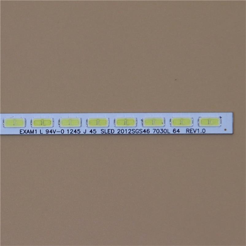 TV LED Array Light Bars For Toshiba 46ML933RB 46ML963R 46ML963RB 46 Inch LED Backlight Strip Matrix Kit 64 LED Lamps Lens Bands
