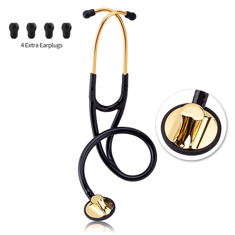 Professional Cardiology Stethoscope Portable Single Side Stethoscope Doctor Medical Equipment Nurse Stethoscope Medical Device