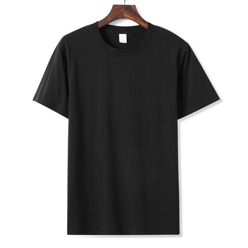 Men's Short Sleeve T-shirt Man O-Neck Solid Tshirt Men/women Cotton T-shirt Casual T-shirt  Short Sleeve T Shirt Men Asian Size