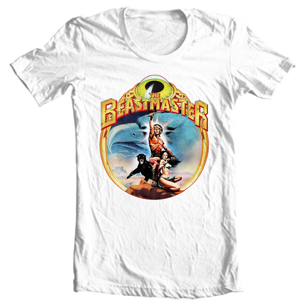 The Beastmaster T-Shirt Retro 1980S Movie Fantasy Sci Fi Film Graphic Tee Shirt Novelty Mens T-Shirts for Men Short Sleeve T Shi image