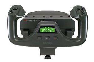 Image 3 - Logitech Sistema de yugo de vuelo Logitech G Saitek PRO, simulador de vuelo, sistema de acelerador, Sim para PC y MAC
