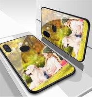 Funda de teléfono personalizada, cubierta de vidrio templado para Iphone 11 12 Mini Pro Max X XR XS Max 6 6S 7 7S 8 Plus SE2020
