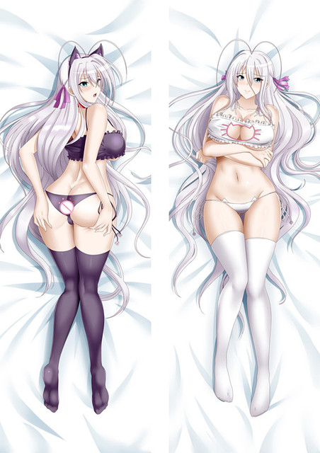MMF 2018 hot anime de la escuela secundaria DxD funciones clave funda de almohada de anime para secundaria DxD Irina Shido Dakimakura funda de cuerpo almohada