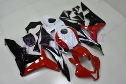 Abs Fairing CBR 600 RR 08 Body Kits CBR600 RR 2008 Red White Black Fairings CBR 600RR 2007 - 2008