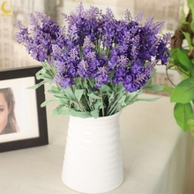 Artificial Lavender Silk Flower For Bouquets Wedding Home Party Decor 1 Bouquet Mini 1x 10 Heads