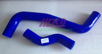 Silicone Radiator Coolant Hose For 1991 - 1997 TOYOTA COROLLA E100 4A-FE AE101 (2PCS)RED/BLUE/BLACK image