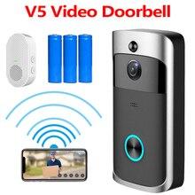 Video Doorbell Remote-Control Wifi Smart-Phone-App Motion-Detection Waterproof Wireless
