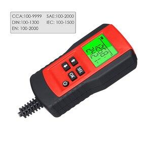 Image 3 - Auto Diagnose Werkzeug Batterie Tester 12V Last Test Analyzer von Batterie Lebensdauer Prozentsatz Spannung für die auto Schnell Ankurbeln lade
