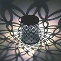Открытый Солнечный садовый светильник  водонепроницаемый наружный садовый декор  ветровая лампа  ночник  светильник для газона  домашний д...