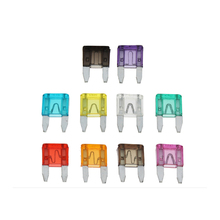 10PCS Car Fuses 2A 3A 5A 7.5A 10A 15A 20A 25A 30A 35A Amp with Box Clip Assortment Auto Blade Type Fuse Set Truck 10 20pcs high quality car fuse standard medium fuse blade fuse auto fuse car 2a 3a 5a 7 5a 10a 15a 20a 25a 30a 35a