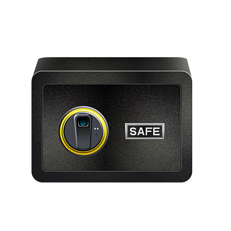 Fingerprint Safe Box Small Home Office Safe Fingerprint Electronic Password Safe Household Smal Biometric Safe Deposit Box