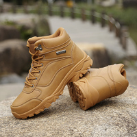 Marine military shoes train boot New summer breathable mesh 2019 combat boots male army fan super light army tactical %A60