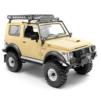 Windshield Roll Cage with Spotlight for 1/6 Capo Samurai Sixer JIMNY RC Car Parts Accessories Stainless Steel
