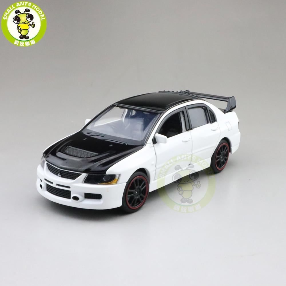 1/32 Lancer EVO 9 IX RHD JACKIEKIM With Black Roof Diecast Model CAR Toys For Kids Boy Girl Gifts