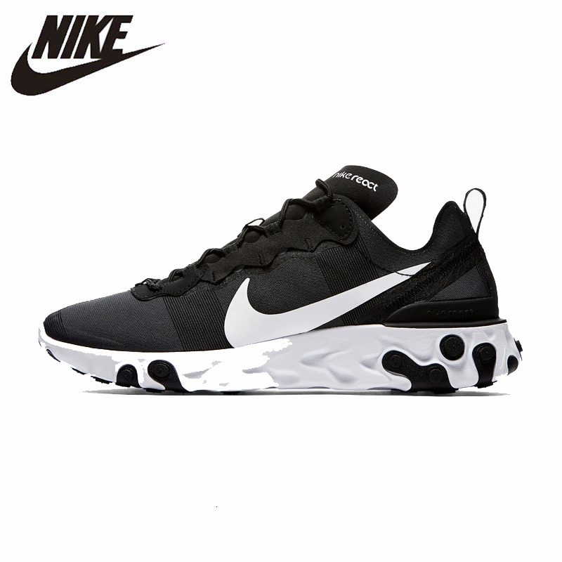 Nike React Element 55 Men Running Shoes Comfortable New Arrival Motion Sport Sneakers #BQ6166