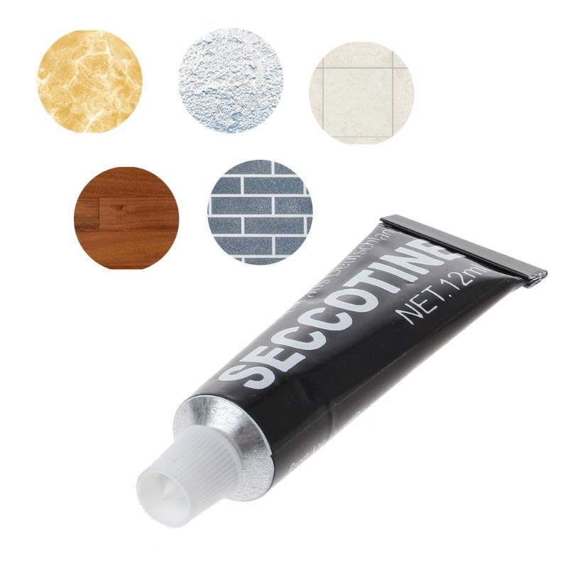 12ML Glass Glue Polymer Metal Adhesive Sealant Fix Quick Drying Super Welding Glue Waterproof Glue