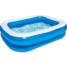Inflatable Pool Family Size Rectangle 211x132x46 cm - 12819