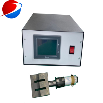 20khz Ultrasonic Plastic Fabric Mask Welding Generator and transducer with booster and horn
