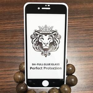 Image 5 - 10 pièces/lot 9D & 5D & Lion plein verre trempé recouvert de colle pour Xiaomi 9 Lite 9SE CC9 CC9E A3 pour Redmi Note 7 8 Pro Film décran