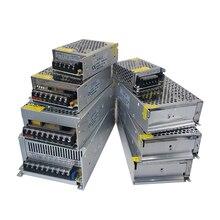 цена на DC 5V Power Supply 2A 5A 10A 15A 20A lighting Transformers 5 V Volt LED Driver 220v to 12v DC AC 5V Power Supply Adapter 5V 10A