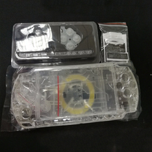 Case Shell Game-Console Full-Housing-Cover PSP3000 Replacement Clear Transparent-Color