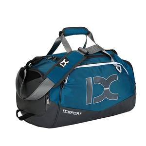 Image 4 - 2020 New 40L Dry Wet Gym Bag For Fitness Travel Shoulder Bag Handbag Waterproof Sports Shoes Women Men Sac De Sport Training Tas