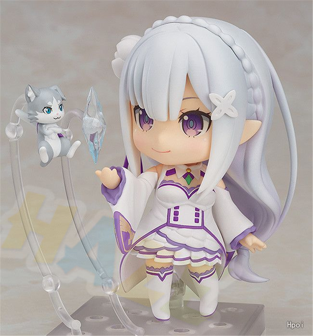Anime Re:Life in a different world from zero Emilia PVC Action Figure In Box
