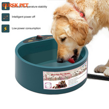 Dog Bowl Heating Feeding Feeder Water Bowl Pet Dog Cats Puppy Winter Heating Pet Feeder Food Container Feeding