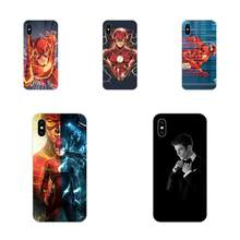 For Xiaomi Redmi Mi 4 7A 9T K20 CC9 CC9e Note 7 9 Y3 SE Pro Prime Go Play Soft Protective Skin Superheroes The Flash Barry Allen(China)