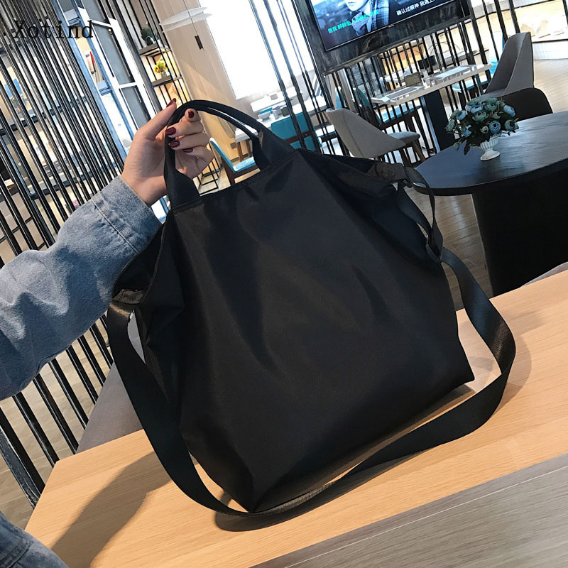 Multifunctional New Women Handbag Shoulder Bag Girl Capacity Messenger Bags Nylon Material Travel Bag Ladies Shopping Bags 2019