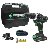 21V power tools electric Drill Electric Cordless Drill electric drilling battery drill Screwdriver Mini electric screwdriver