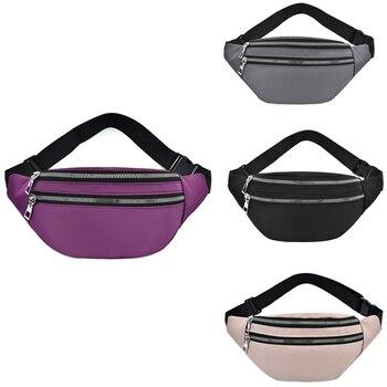 Fanny Pack for Women Waterproof Waist Bags Ladies Fashion Bum Bag Travel Crossbody Chest Unisex Hip - discount item  18% OFF Women's Handbags