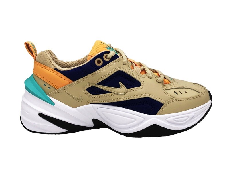NIKE SNEAKERS W M2K TEKNO BEIGE blue orange AO3108 204 (41 ...