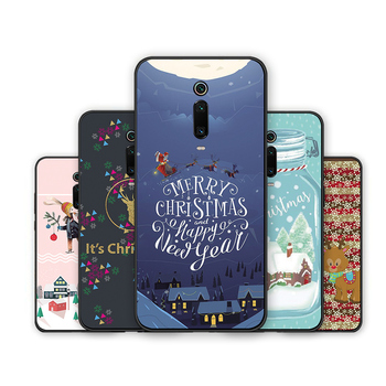 Redmi Note 7 S2 Merry Christmas Tree Bear Phone cases for Xiaomi Redmi 6A 5A 4A 4 5 6 7 Pro 5Plus GO Santa Claus soft tpu cover