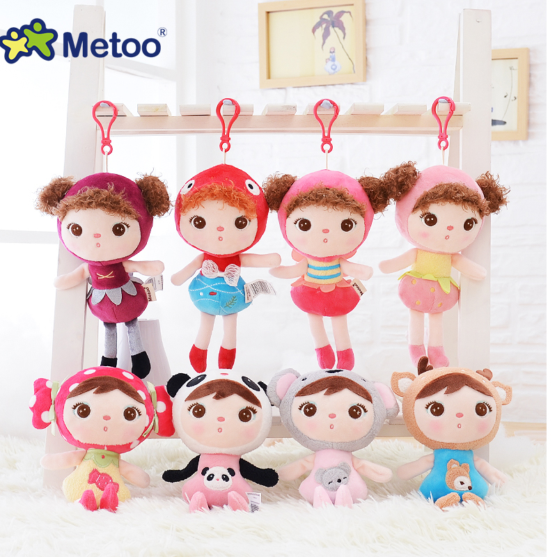 Metoo Rabbit Stuffed Plush Dolls Backpack Pendant For Girl Christmas Gifts