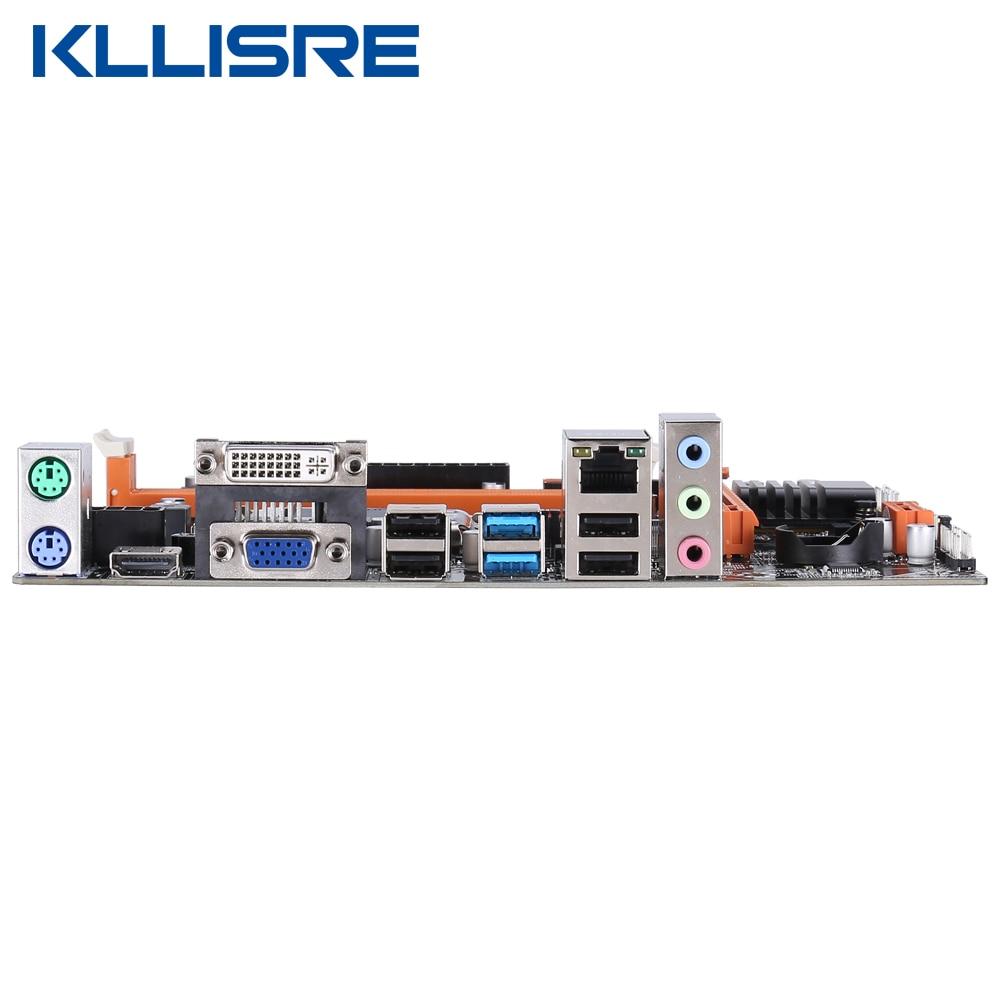 Image 5 - Kllisre B75 материнская плата с Intel Core I7 3770 2x8 ГБ = 16 Гб 1600 МГц DDR3 ПАМЯТЬ для рабочего стола USB3.0 SATA3Материнские платы    АлиЭкспресс
