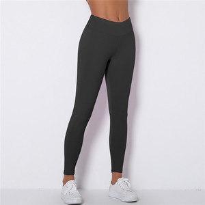 Image 2 - Kaminsky לדחוף את נשים Spamdex 8% חותלות גבוהה מותן מכנסי קזואל Mujer אופנה קמטים ספורט כושר חותלות 8 צבע