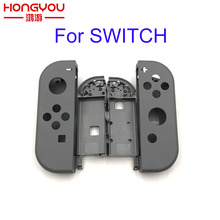 Capa cinza original para controle nintendo switch, joy con, carcaça de substituição para ns nx