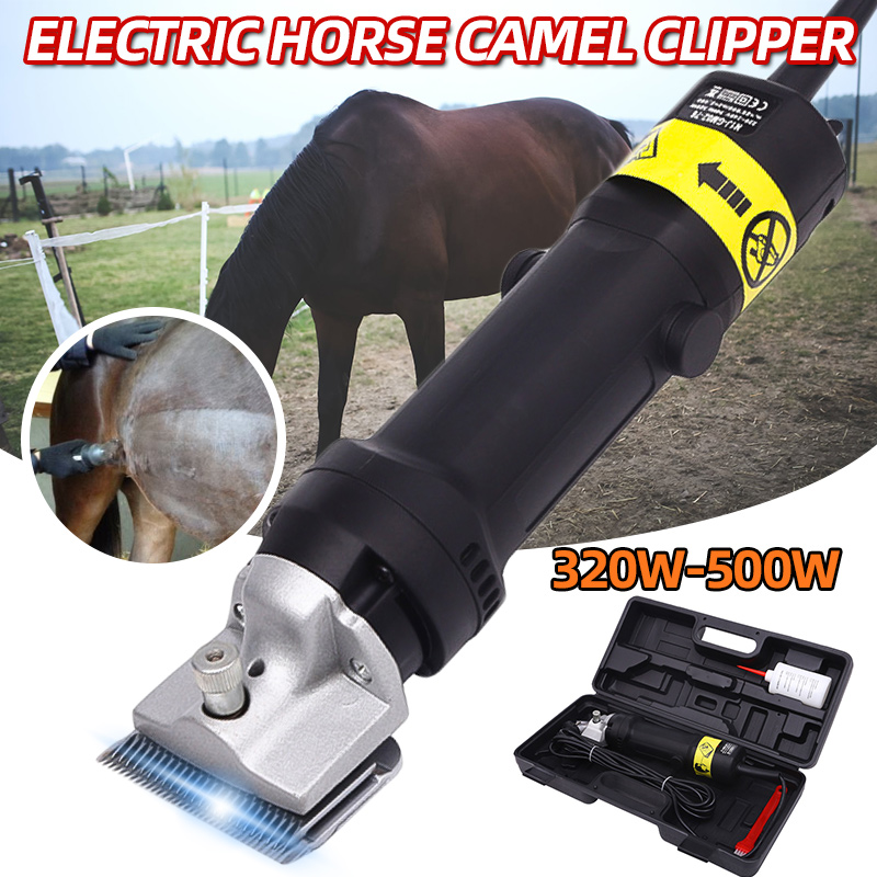 1PC Professional Electric Horse Camel Cattle Shearing Machine Dog Cat Rabbits Hair Grooming Clipper Shaver Trimmer Clipper